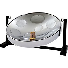 Panyard Jumbie Jam Table Top Steel Drum Kit Chrome