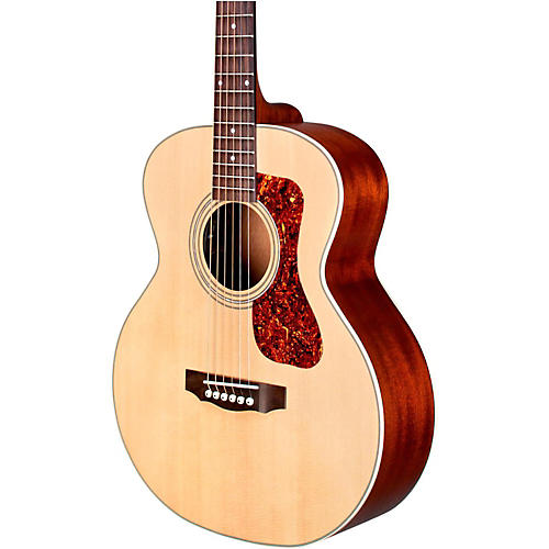 guild jumbo junior mahogany acoustic electric guitar natural musician 39 s friend. Black Bedroom Furniture Sets. Home Design Ideas