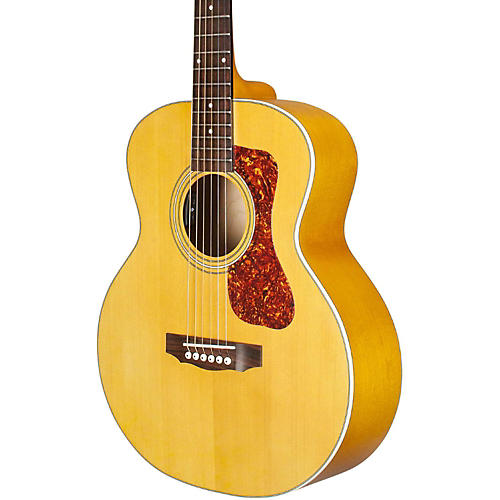 guild jumbo junior maple acoustic electric guitar natural musician 39 s friend. Black Bedroom Furniture Sets. Home Design Ideas