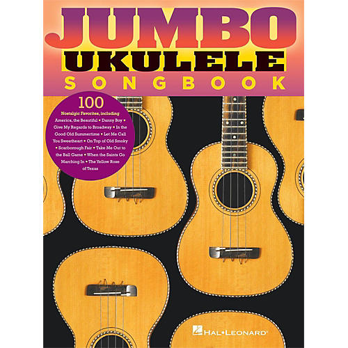 Hal Leonard Jumbo Ukulele Songbook