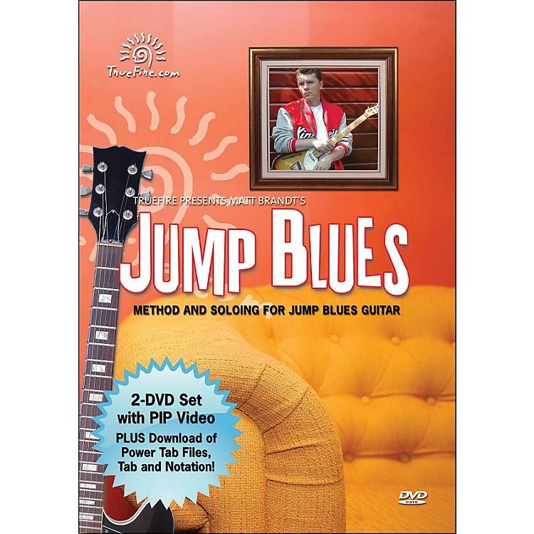 Hal LeonardJump Blues - Instructional Guitar 2-DVD Pack Featuring Matt Brandt