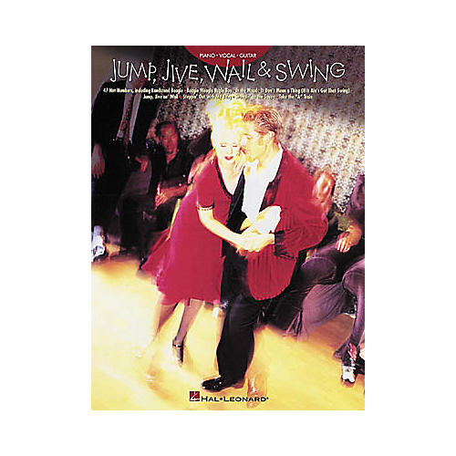 Hal Leonard Jump Jive Wail & Swing Piano, Vocal, Guitar Songbook