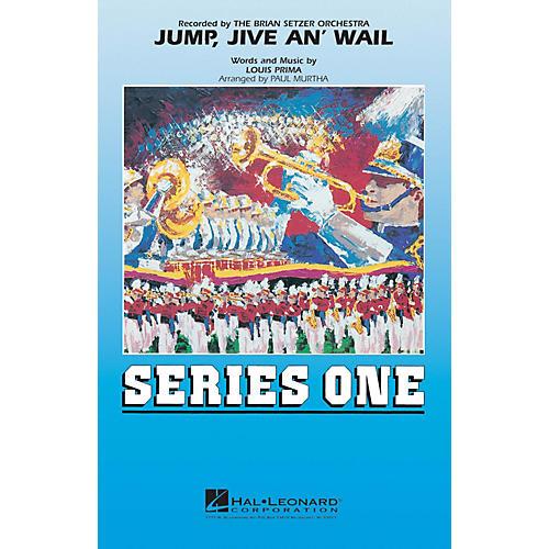 Hal Leonard Jump, Jive an' Wail Marching Band Level 2 by Brian Setzer Orchestra Arranged by Paul Murtha-thumbnail