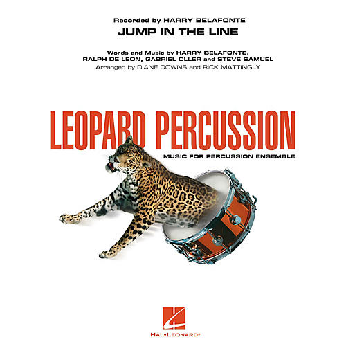Hal Leonard Jump in the Line Concert Band Level 3 performed by Harry Belafonte-thumbnail
