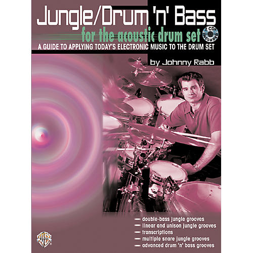 Alfred Jungle Drum 'n' Bass (Book/CD)