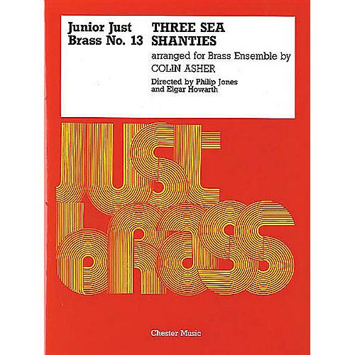 Music Sales Junior Just Brass 13: Three Sea Shanties Music Sales America Series-thumbnail