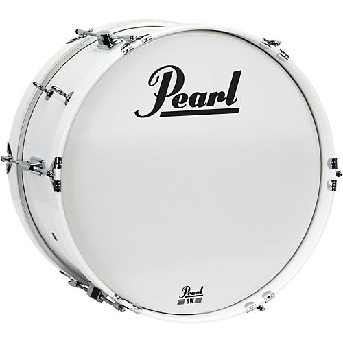 Pearl Junior Marching Bass Drum and Carrier-thumbnail