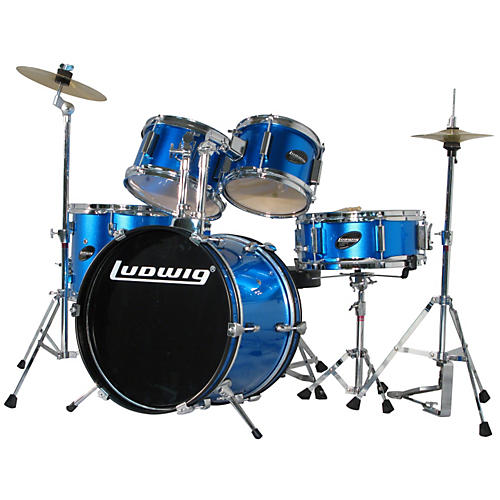 Ludwig Junior Outfit Drum Set Blue