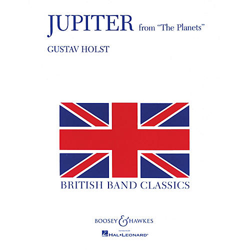 Boosey and Hawkes Jupiter (from The Planets) Concert Band Level 5 Composed by Gustav Holst-thumbnail