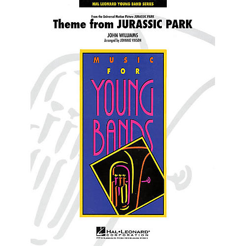Hal Leonard Jurassic Park (Main Theme) - Young Concert Band Series Level 3 arranged by Johnnie Vinson-thumbnail