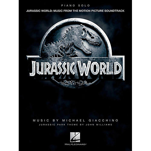 Hal Leonard Jurassic World - Music From The Motion Picture Soundtrack Piano Solo Songbook-thumbnail