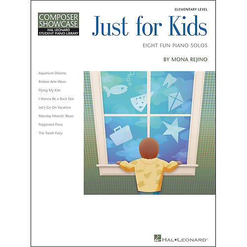 Hal Leonard Just For Kids  -Eight Fun Piano Solos -Composer Showcase Elementary Level