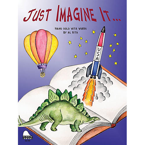 SCHAUM Just Imagine It Educational Piano Series Softcover-thumbnail