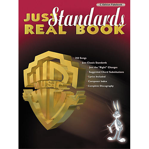 Hal Leonard Just Standards Real Book-thumbnail