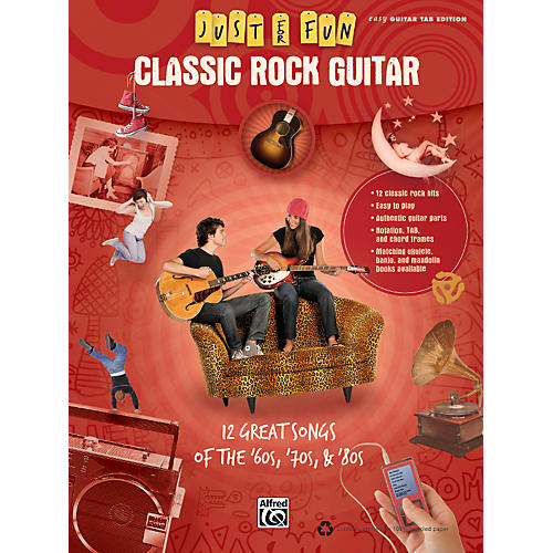 Alfred Just for Fun: Classic Rock Guitar (Book)
