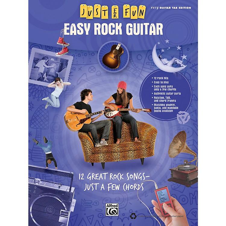 AlfredJust for Fun: Easy Rock Guitar (Book)