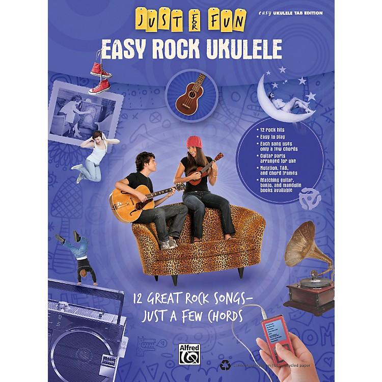 AlfredJust for Fun: Easy Rock Ukulele (Book)