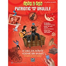 Alfred Just for Fun Patriotic Songs for Ukulele Easy TAB Book