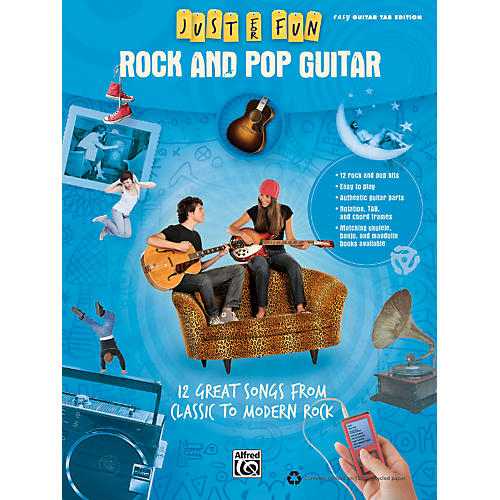 Alfred Just for Fun: Rock and Pop Guitar (Book)