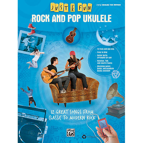 Alfred Just for Fun: Rock and Pop Ukulele (Book)