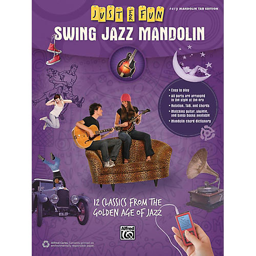 Alfred Just for Fun Swing Jazz Mandolin Book-thumbnail