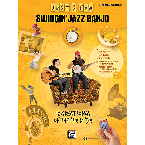Alfred Just for Fun: Swingin' Jazz Banjo (Book)