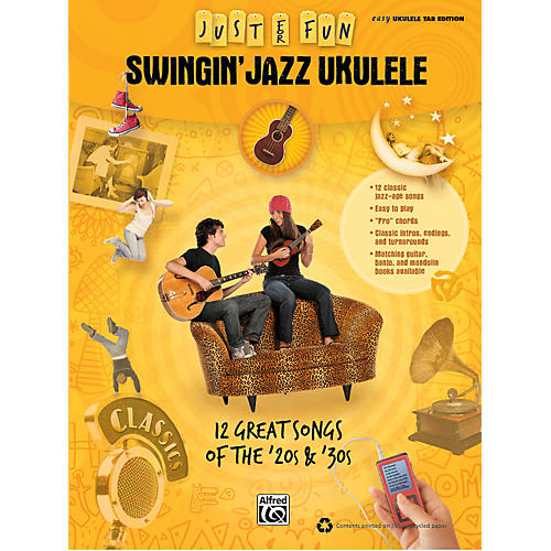 Alfred Just for Fun: Swingin' Jazz Ukulele (Music Book)