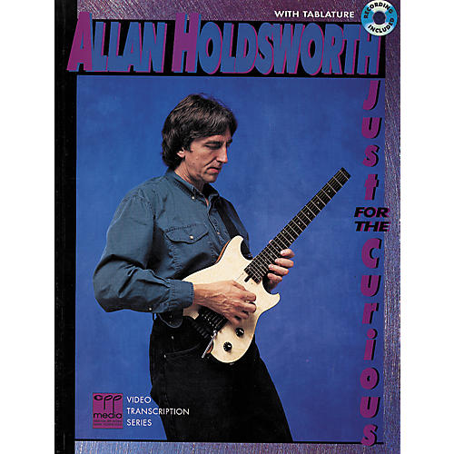 Alfred Just for the Curious-Book/CD by Allan Holdsworth-thumbnail