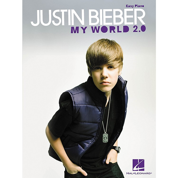 Hal Leonard Justin Bieber - My World 2.0 For Easy Piano