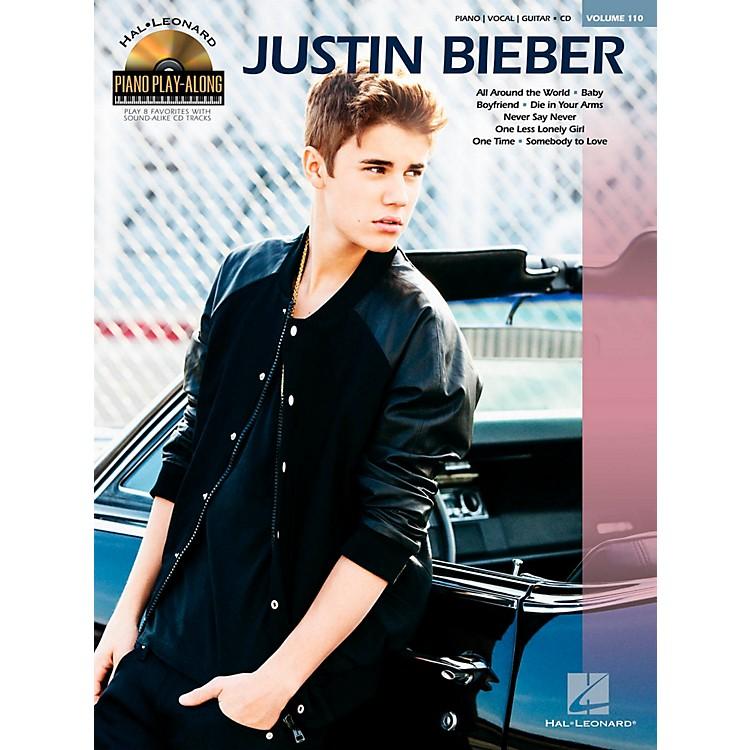 Hal LeonardJustin Bieber - Piano Play-Along Volume 110 Book/CD
