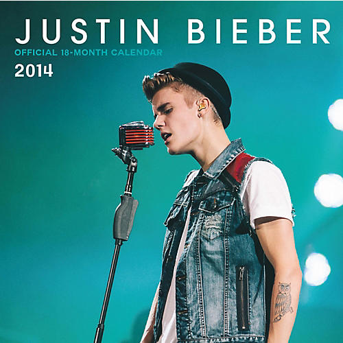 Browntrout Publishing Justin Bieber 2014 Calendar Square 12x12