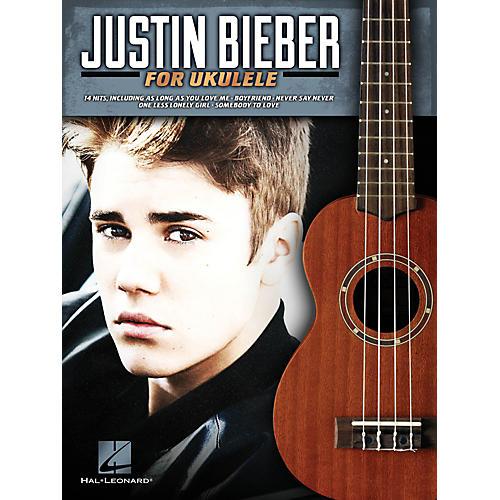 Hal Leonard Justin Bieber For Ukulele