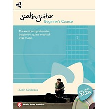 Hal Leonard Justin Guitar - Beginner's Course (Book/2-CD Pack)