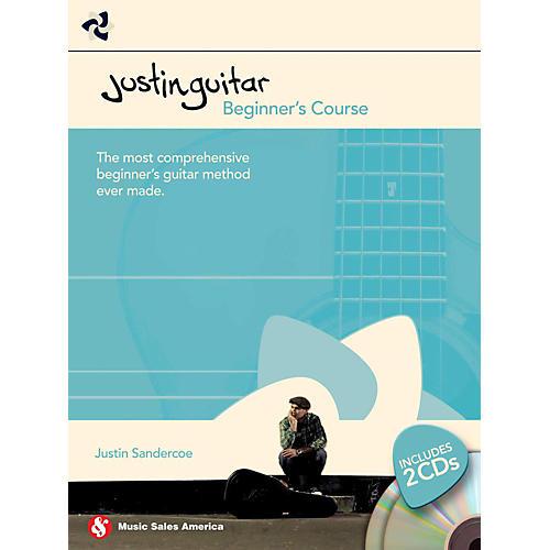 Hal Leonard Justin Guitar - Beginner's Course (Book/2-CD Pack)