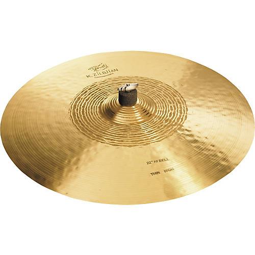 Zildjian K Constantinople Hi Bell Thin Ride, High Cymbal