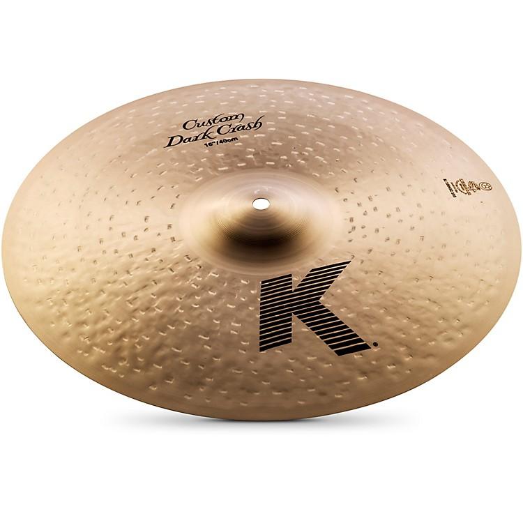 ZildjianK Custom Dark Crash Cymbal16 Inches