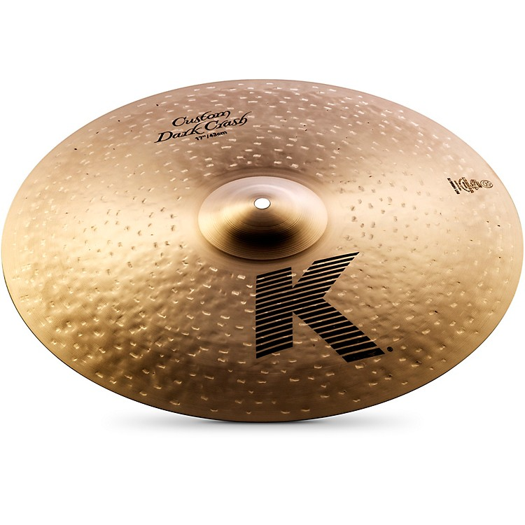 Zildjian K Custom Dark Crash Cymbal  17 Inches
