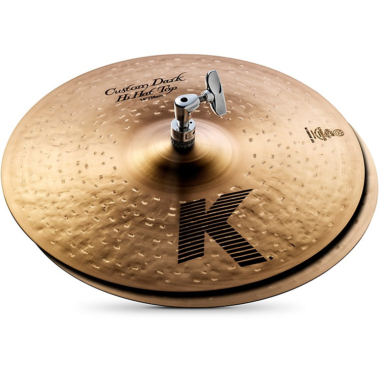 Zildjian K Custom Dark Hi-Hat Cymbal Pair  14 Inches