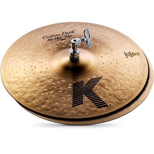 Zildjian K Custom Dark Hi-Hat Cymbal Pair-thumbnail