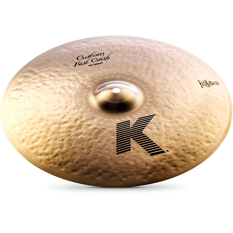 Zildjian K Custom Fast Crash Cymbal  16 Inches