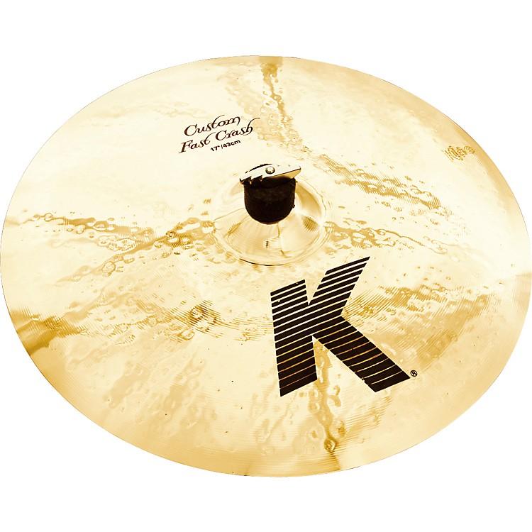 ZildjianK Custom Fast Crash Cymbal17 Inches
