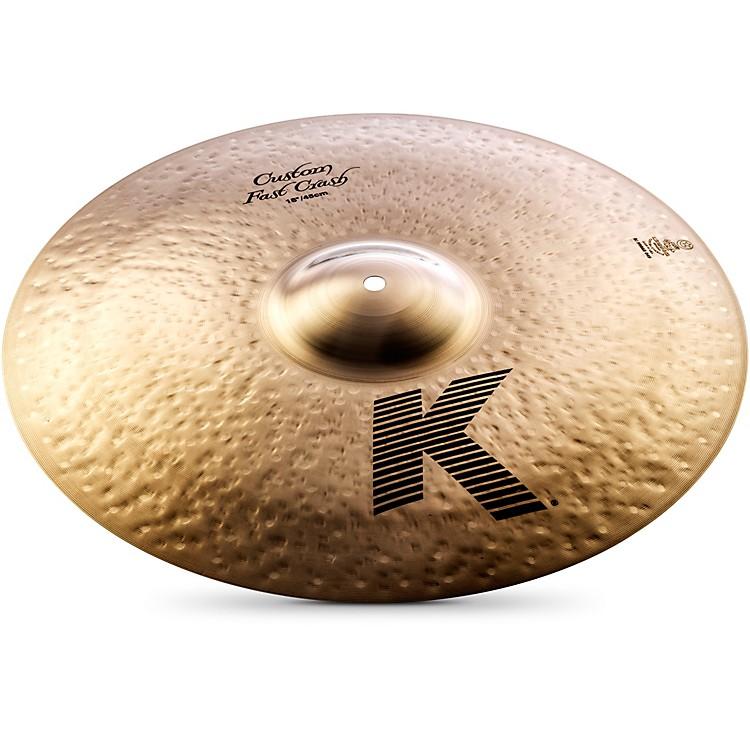 ZildjianK Custom Fast Crash Cymbal18 Inches
