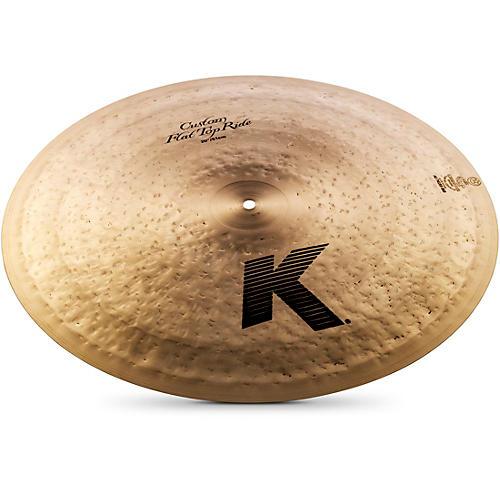 Zildjian K Custom Flat Top Ride Cymbal-thumbnail