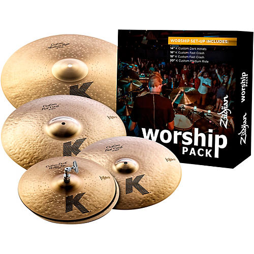 Zildjian K Custom Series Cymbal Set Worship-thumbnail