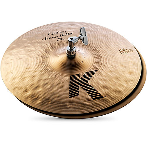 Zildjian K Custom Session Hi-Hat Cymbals 14 in.