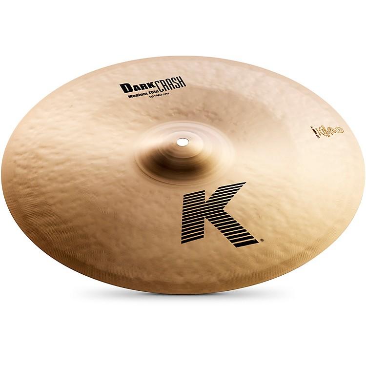 ZildjianK Dark Medium-Thin Crash Cymbal