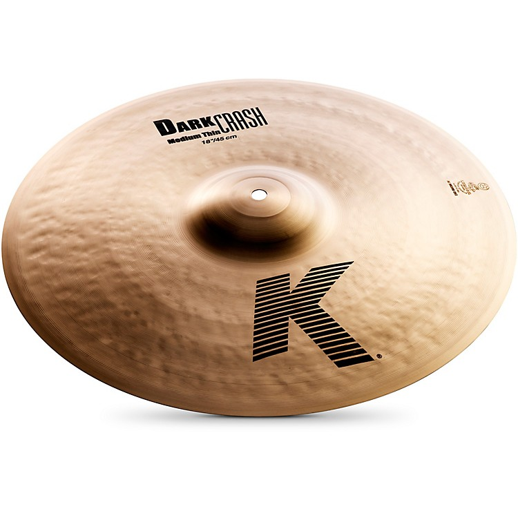 ZildjianK Dark Medium-Thin Crash Cymbal18 Inches