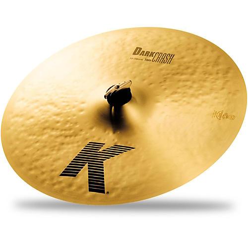 Zildjian K Dark Thin Crash Cymbal-thumbnail