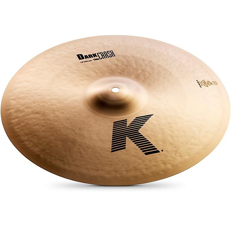 ZildjianK Dark Thin Crash Cymbal20 Inch