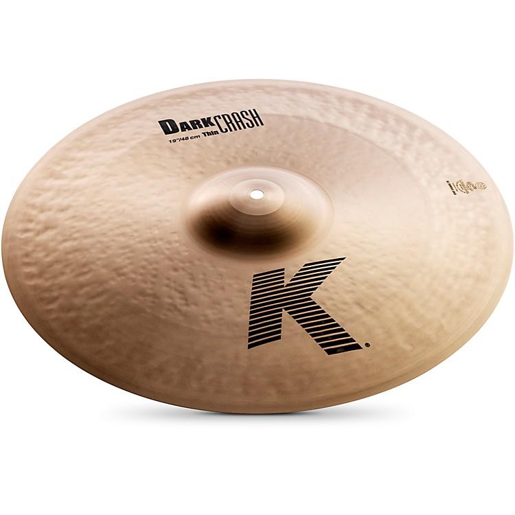ZildjianK Dark Thin Crash Cymbal